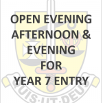 OPEN AFTERNOON EVENING